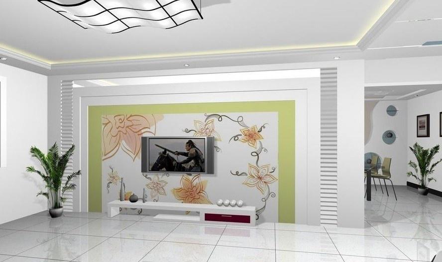 瓷砖电视背景墙制作工艺